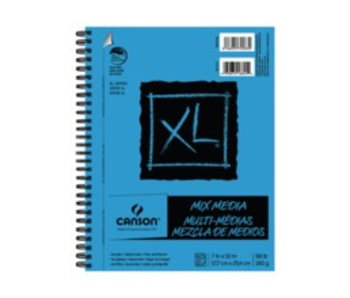 CANSON XL MIX MEDIA 7X10 60 SHEETS
