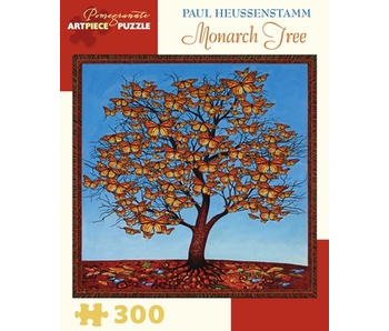POMEGRANATE ARTPIECE PUZZLE 300 PIECE: PAUL HEUSSENSTAMM MONARCH TREE