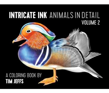 POMEGRANATE COLORING BOOK: TIM JEFFS INTRICATE INK ANIMALS IN DETAIL VOLUME 2