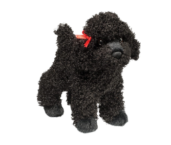 DOUGLAS CUDDLE TOY PLUSH GIGI BLACK POODLE