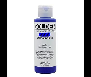Golden 4oz Fluid Ultramarine Blue Series 2