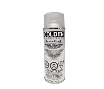 Golden Aerosol 10oz Archival Varnish Matte