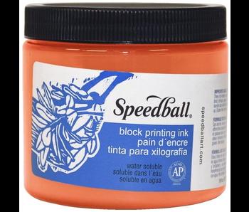 Speedball Block Printing Ink 16Oz Orange