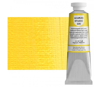 LUKAS STUDIO OIL 37ML CADMIUM YELLOW LIGHT (HUE)