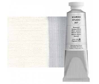 LUKAS STUDIO OIL 37ML OPAQUE WHITE