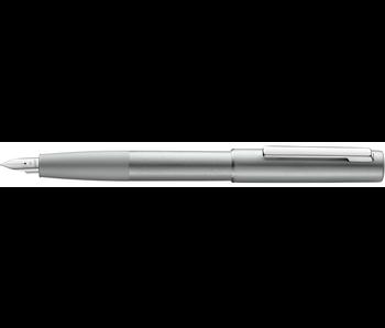 Lamy Aion Fountain Pen, Olivesilver Steel Extra Fine