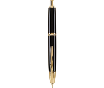 PILOT CAPLESS FOUNTAIN PEN MEDIUM BLACK/GOLD