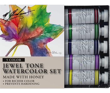 M. GRAHAM 5PK SET: JEWEL TONE WATERCOLOUR