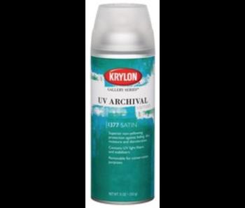 KRYLON UV ARCHIVAL VARNISH SPRAY 11OZ SATIN