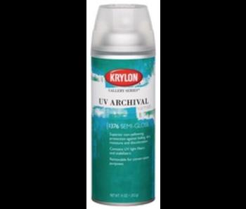 KRYLON UV ARCHIVAL VARNISH SPRAY 11OZ SEMI-GLOSS