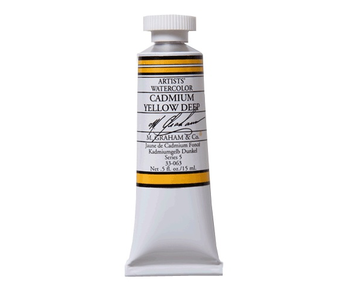 M. GRAHAM WATERCOLOUR 15ML CADMIUM YELLOW DEEP