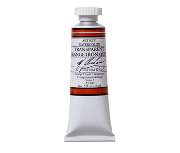 M. GRAHAM WATERCOLOUR 15ML TRANSPARENT ORANGE IRON OXIDE