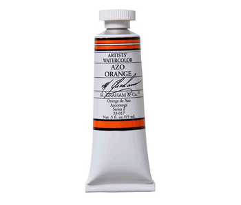 M. GRAHAM WATERCOLOUR 15ML AZO ORANGE