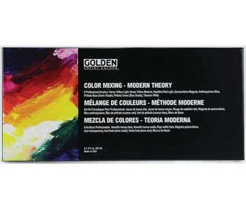 Golden Artist Modern Theory Color Mixing Set