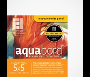 "AMPERSAND MUSEUM AQUABORD 1/8"" 5x5 4PK"