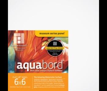 "AMPERSAND MUSEUM AQUABORD 1/8"" 6x6 4PK"