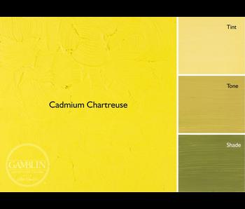 GAMBLIN ARTIST'S OIL COLORS 37ML CADMIUM CHARTREUSE