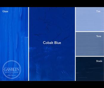 GAMBLIN ARTIST'S OIL COLORS 37ML COBALT BLUE