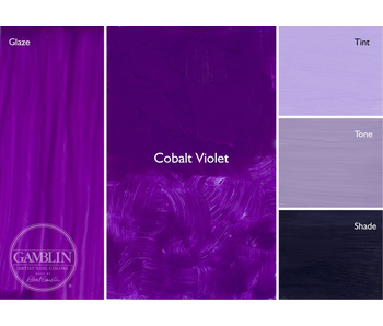 GAMBLIN ARTIST'S OIL COLORS 37ML COBALT VIOLET