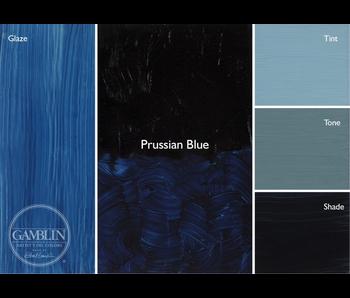 GAMBLIN ARTIST'S OIL COLORS 37ML PRUSSIAN BLUE