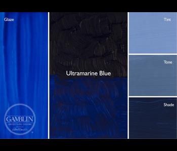 GAMBLIN ARTIST'S OIL COLORS 37ML ULTRAMARINE BLUE