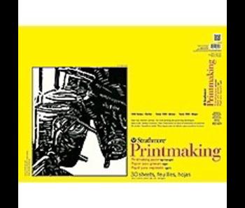 STRATHMORE PRINTMAKING PAPER 18x24 PAD 30 SHEETS