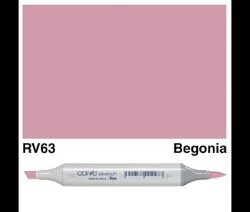 COPIC SKETCH RV63 BEGONIA