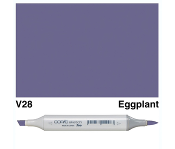 COPIC SKETCH V28 EGGPLANT