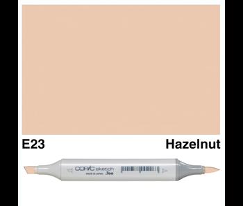 COPIC SKETCH E23 HAZELNUT