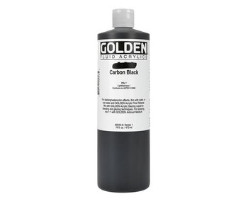 Golden 16oz Fluid Carbon Black Series 1
