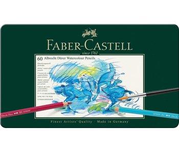 Faber Castell Durer Watercolor Pencil Set 60Pk