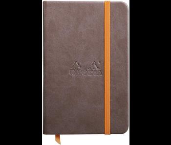 Rhodia Rhodiarama Notebook 3.5x5.5 CHOCOLATE Blank