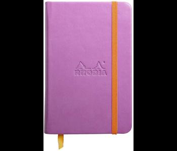 Rhodia Rhodiarama Notebook 3.5x5.5 Lilac Blank
