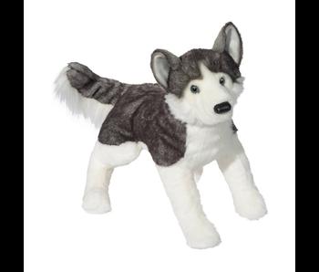 DOUGLAS CUDDLE TOY PLUSH BARKER HUSKY LARGE DOG (LARGE)