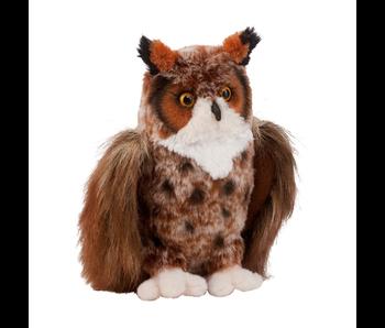 DOUGLAS CUDDLE TOY PLUSH EINSTEIN GREAT HORNED OWL