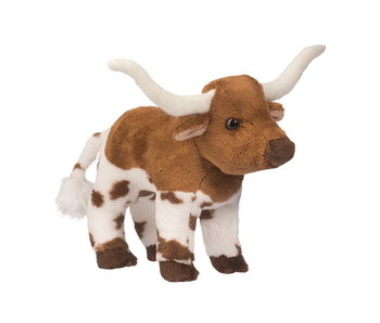 DOUGLAS CUDDLE TOY PLUSH ZEB LONGHORN