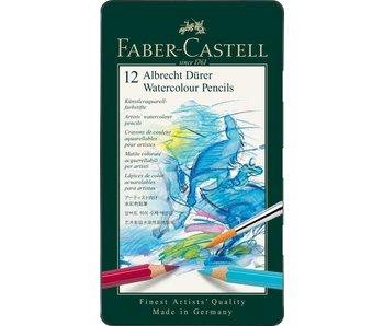 Faber Castell Durer Watercolor Pencil Set 12Pk
