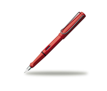 LAMY SAFARI PEN RED EXTRA-FINE