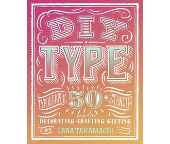 DIY TYPE STENCILS 50PK