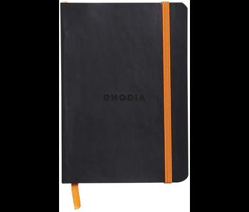 Rhodia Rhodiarama Notebook 4x5.5 Black Dot Grid