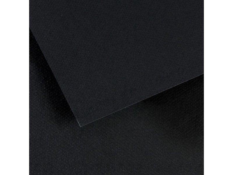 CANSON MI-TEINTES 19x25 STYGIAN BLACK