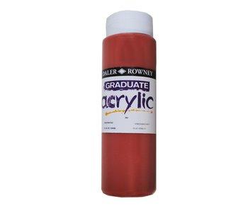 GRADUATE ACRYLIC 500ML VENETIAN RED