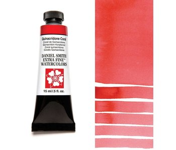 DANIEL SMITH XF WATERCOLOR 15ML QUINACRIDONE CORAL