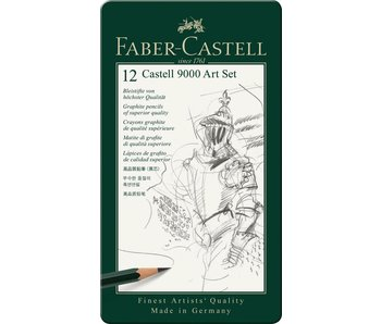 Faber Castell Graphite Pencils 9000 Series Set 12Pk