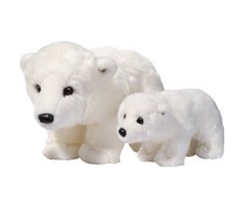 DOUGLAS CUDDLE TOY PLUSH MARSHMALLOW POLAR BEAR,