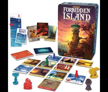 FORBIDDEN ISLAND GAME TIN