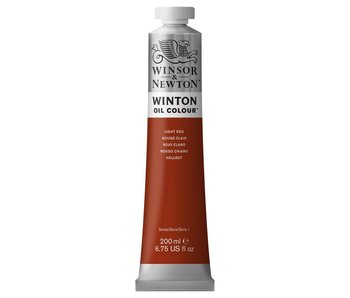 WINTON OIL 200ML LIGHT RED