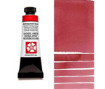 DANIEL SMITH XF WATERCOLOR 15ML ANTHRAQUINOID SCARLET