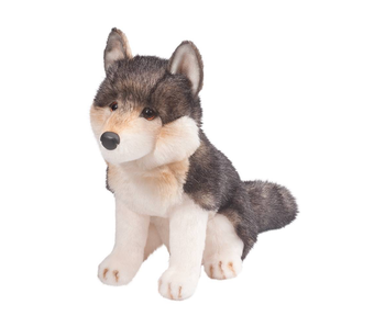 DOUGLAS CUDDLE TOY PLUSH ATKA WOLF DOG