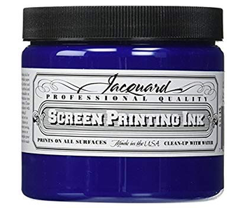 JACQUARD PROFESSIONAL SCREEN PRINTING INK 16OZ ROYAL BLUE